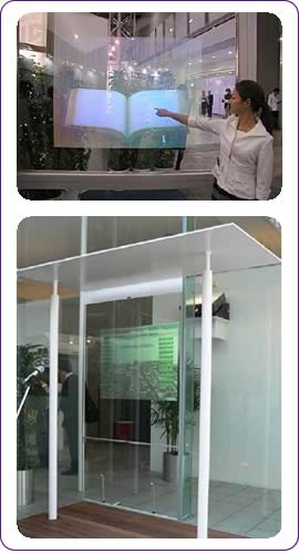 Large Screen Interactive Window Optical based Multi-touch System