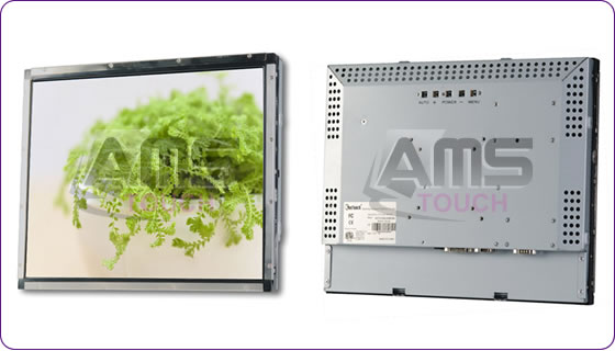 "17"" LCD Open Frame SAW Touch Monitor - (Water-proof and Compact Type)"